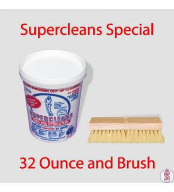 Supercleans All Purpose Cleaner and Brush