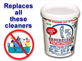 Buy Supercleans and replace all these